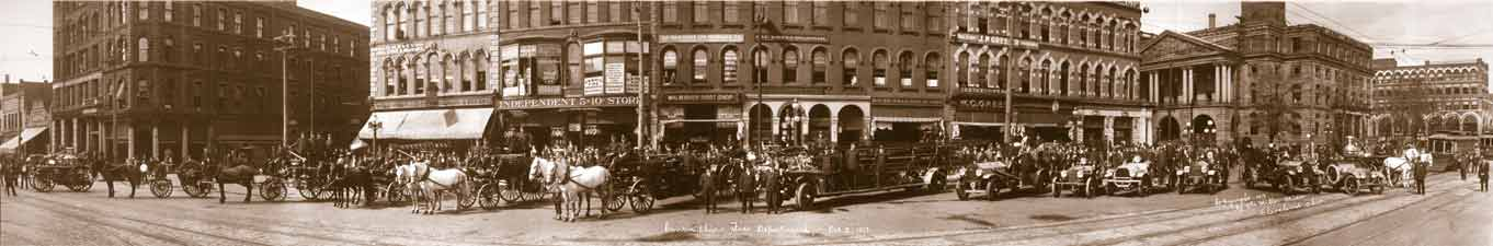 1913 Canton Fire Department
