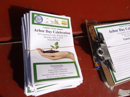 Arbor Day Celebration flyers