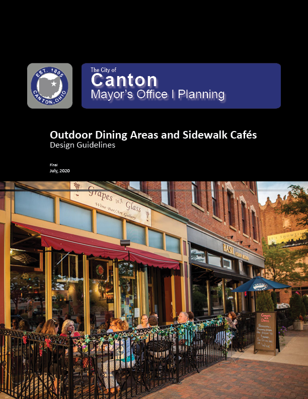 Cover - Outdoor Cafe Design Guide Opens in new window
