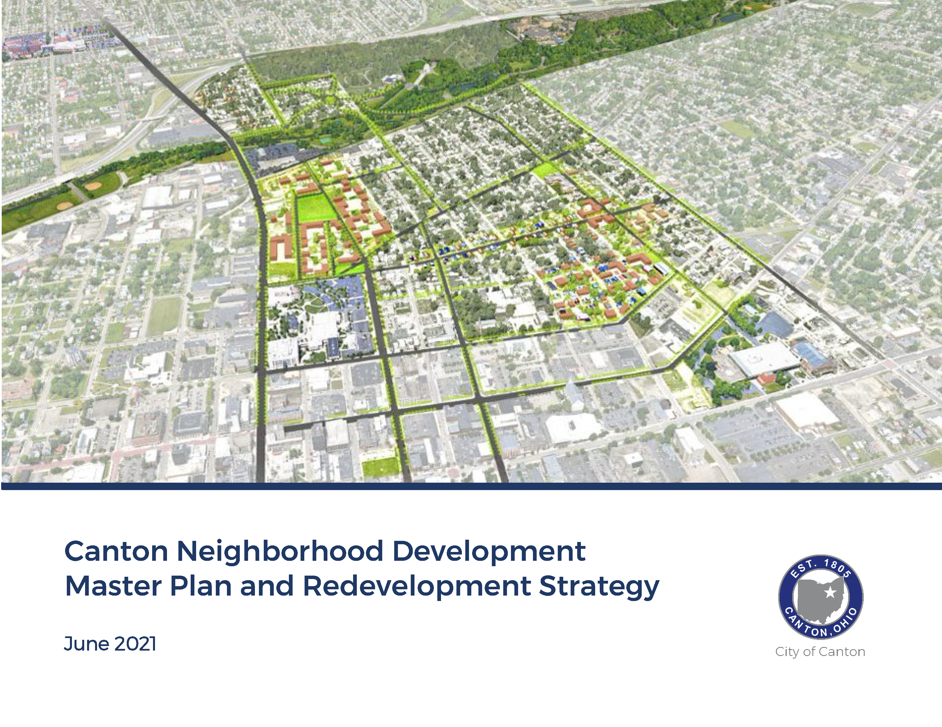 Cover - 2021 Canton Neighborhood Plan Opens in new window